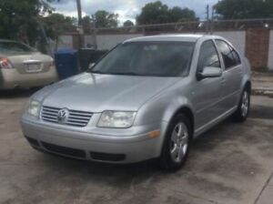 2001 vw Jetta part out