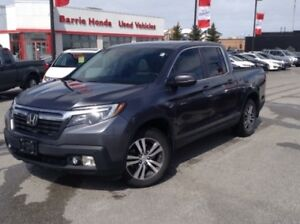 2017 Honda Ridgeline EX-L LEATHER,SUNROOF,BLUETOOTH,BACKUP CA...
