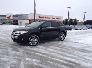2012 Ford Edge Limited SUNROOF, LEATHER,HEATED SEATS