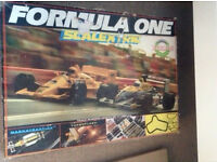 COMPLETE SET SCALEXTRIC RACING TRACK AND CARS.