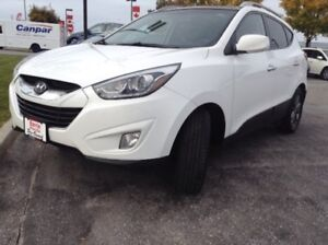 2014 Hyundai Tucson GLS Front & Rear Sunroofs, Front & Rear H...