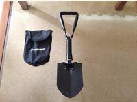 Garden foldable shovel comes with bag