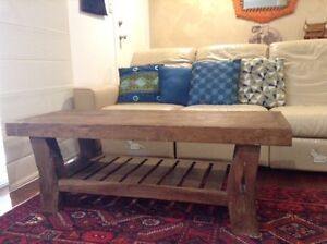 Hardwood coffee table Sunnybank Brisbane South West Preview