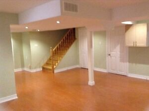 Spacious basement for rent in Markham (9th line and 14th ave)