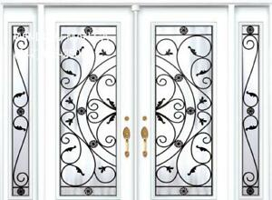 Entry Door TwoSidelites Double Front  supplier and installer