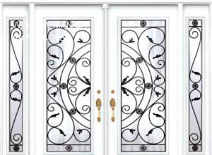 TwoSidelites Double Entry Front Door  Quality product