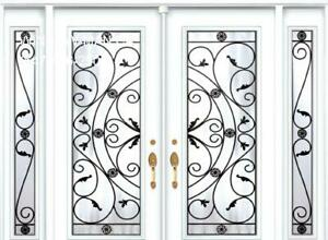 Door Entry TwoSidelites Front Double  White