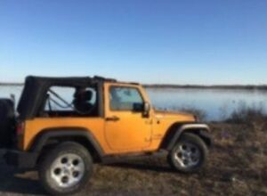 2 door Jeep Wrangler sport