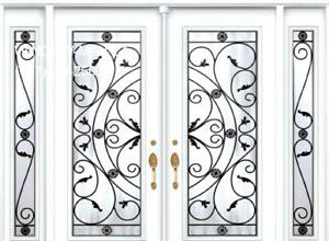 Front Entry Double Door TwoSidelights  Quality product