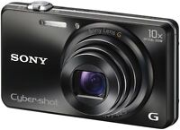 New condition Sony DSC-WX200 18.2 MP HD camera with the original