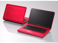 "Sony Vaio VPCCA Laptop / 14.4"" / Core i3 / 4GB RAM / 320GB HDD / Windows 10"