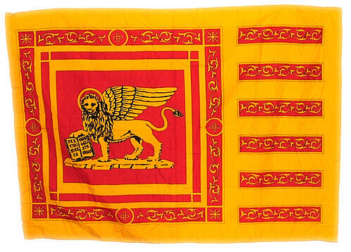Venice, Italy Flag, 4 1/3 ft. x 3 1/8 ft., Made in Italy