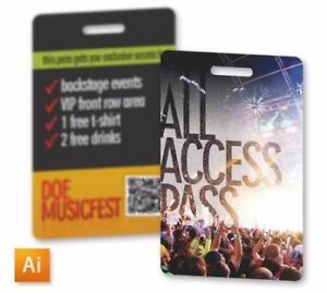 show pass card printing as low as $0.10/ea