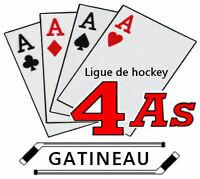 Ligue de hockey 30+ 4As recherche joueurs