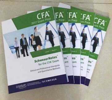100% New CFA 2017 Exam Prep Schweser Study Notes Level 1 Materia