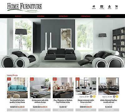 Established Profitable Furniture Turnkey Dropship Website Business For Sale