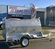 New 8 x 5 Galvanised Tradesman Trailer (Aluminium Canopy) Currumbin Gold Coast South Preview