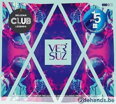 3CD Belgian Club Legends Presents: 15 years Versuz