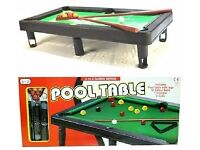 Mini Pool Table . Brand New and unopened. Possible Job Lot.