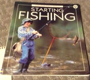 Usborne book Starting Fishing for sale