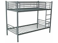 Brand New Quality Study Metal Appollo Bunk bed set FREE delivery