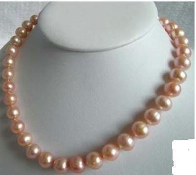 Pink Akoya Pearl Necklace Ebay