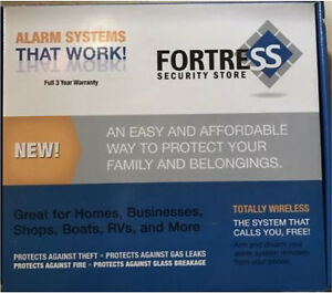 Fortress gsm-b security home alarm system