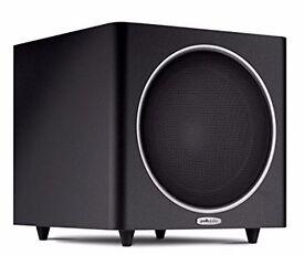 Polk Audio 10'' subwoofer, model PSW110 BLACCK - 200W RMS