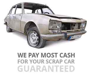 905-334-9397 Top/fast $Cash$ for your junk/scrap/used cars