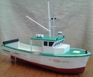Wood Model Scratch Built Boats, One of a Kind