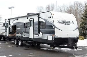 2014 Springdale 31.5' trailer with 5 years of extended warranty