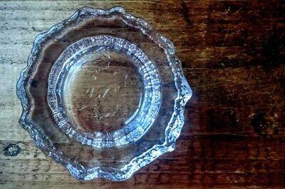 Vintage IITTALA Tapio Wirkkala ASLAK Map of Europe Glass Bowl Candle Holder
