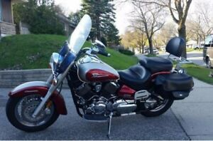 2004, Yamaha V-STAR Classic, excellent shape, 22000km for $3300
