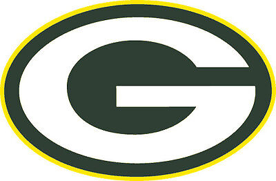 Green Bay Packers Nfl Color Die Cut Decal   Car Sticker  Free Shipping