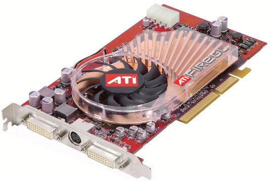 SCHEDA GRAFICA AGP_ATI RADEON_ 256 MB _ FIREGL X3256  < ATI RADEON  >