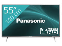 PANASONIC TX55CX700 ULHD. led 3d smart with wifi build in . mint condition