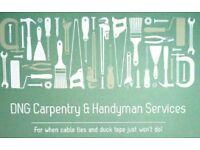 Light Carpentry, Handyman, Gardening