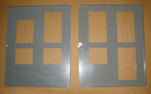 AEC 100 AMP FUSE PANEL INSIDE PANELBOARD COVERS ~ VERY RARE!