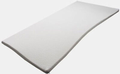 Matratzenauflage Topper Visco Schaumstoff 100x200x5cm mit Bezug Härte 3 ANGEBOT