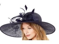 Navy monsoon camilla hat-worn once