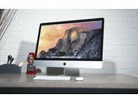 Apple iMac **Slim** 27 inch i5 Quadcore 2.9 Ghz 16gb Ram 1TB HDD