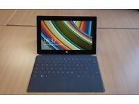 Microsoft Surface with keyboard, Quad core processor, 64GB SSD Tablet pro with Microsoft OFFICE