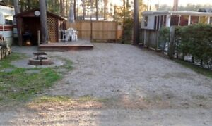 Nice lot for sale at Pinelakecampground Near Bayfield