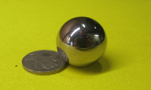 "440C Stainless Steel Ball 7/8"" (+/-0.0005"") Dia,  4 pcs"