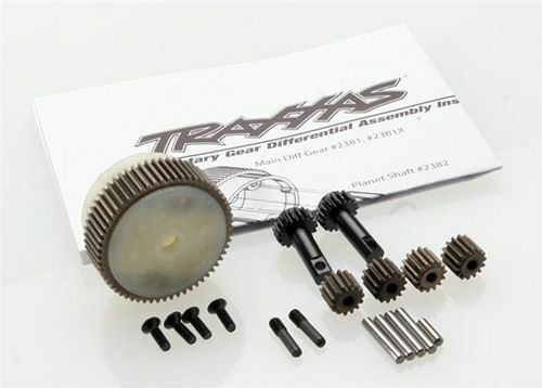 Traxxas 2388X Planetary Gear Diff Differential w Steel Ring Gear Stampede VXL Toys