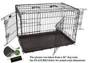 42 Dog Crate