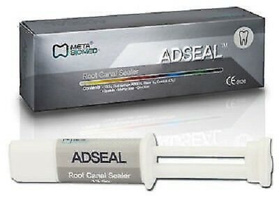 New Dual Syringe Dental Meta Adseal Root Canal Sealer 13.5gm