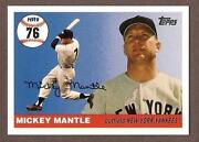 Mickey Mantle Home Run History