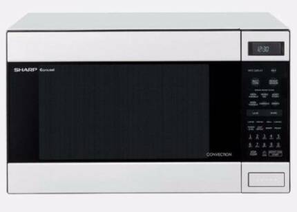 Microwave (Convection) SHARP R990KW - 900Watts - White #780287. N