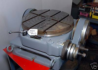 Walters 15 34 In. Tilting Rotary Table Type Rs400g Inv.21500